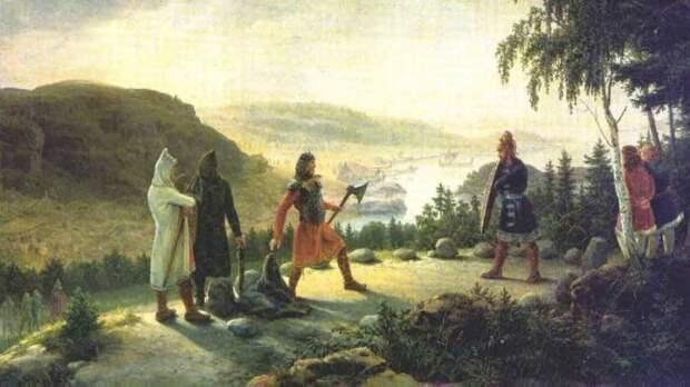 Холмганг — решение спора поединком у викингов. Если кто-то, кому был прошен вызов, не пришёл на поединок, он признавался виновным. Такого человека мог легально убить кто угодно, даже раб исторические факты, история, факты, человечество