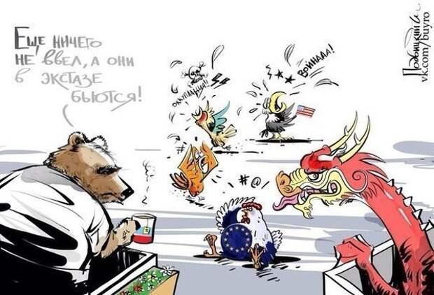 Западные СМИ бьют тревогу – санкции против России наносят колоссальный ущерб экономике стран, которые их ввели