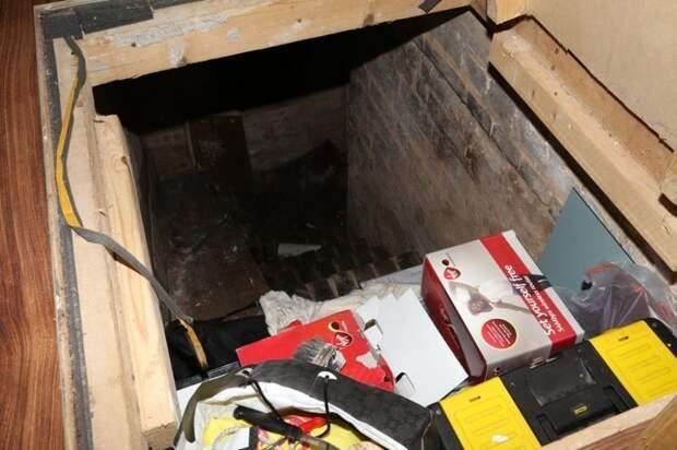 Мужчина потянул за неприметную ручку в полу и нашел дома спуск в подземелье, закрытое 50 лет назад