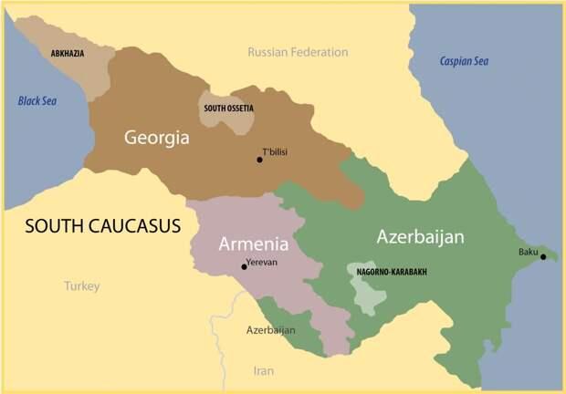 Армения и Азербайджан нужны Западу для размещения баз, чтобы «пробивать» всю территорию России