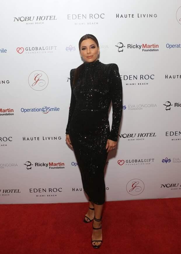 Ева Лонгория наGlobal Gift Gala 2019
