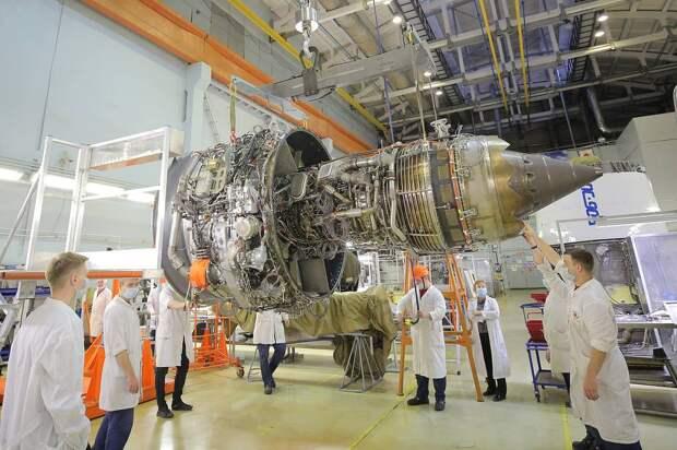 Сборка двигателя ПД-14 Пресс-служба ОДК