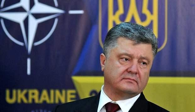 Порошенко заявил, что блок НАТО «открыл двери» для Украины