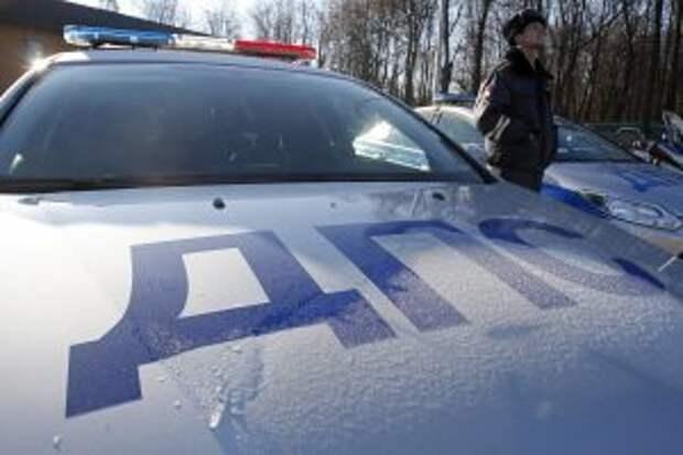Патрульная машина ДПС / Фото: Агентство Москва
