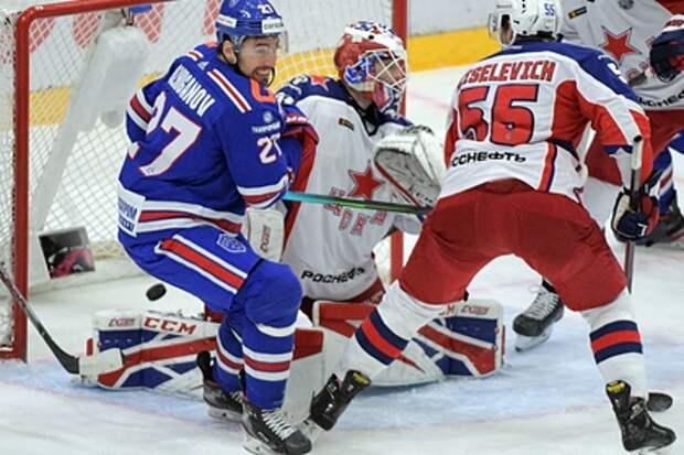 ЦСКА третий раз обыграл СКА и оказался в шаге от выхода в финал Кубка Гагарина