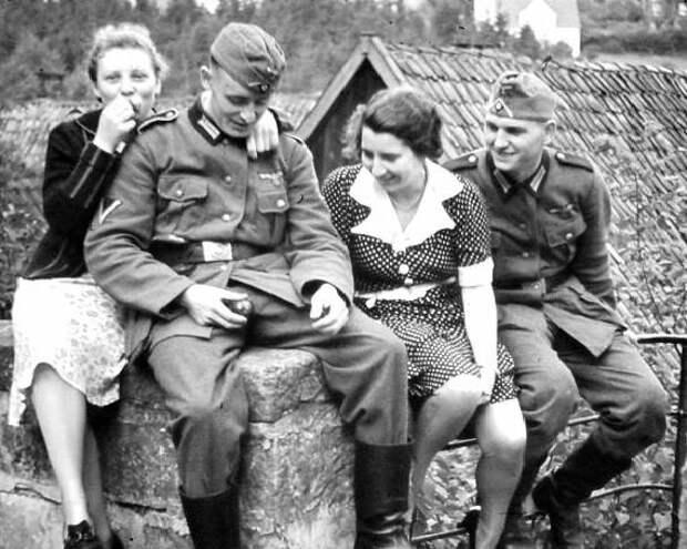 За связь с какими женщинами солдат вермахта могли расстрелять