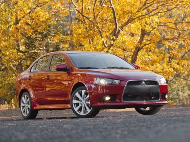 Mitsubishi может выпустить Lancer на базе модели Nissan