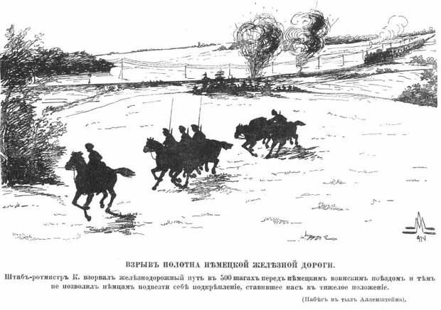 Конница против железных дорог