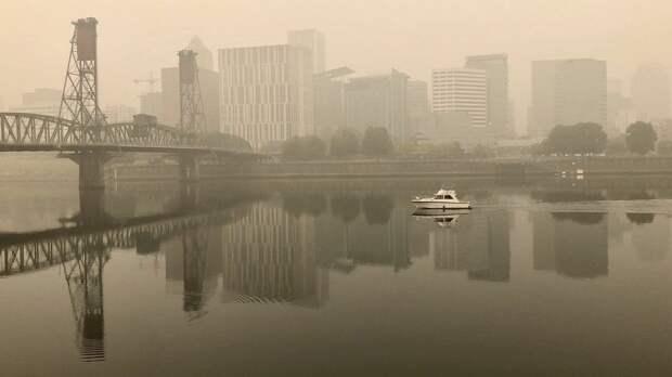 Пожары в США привели к серьезному загрязнению воздуха
