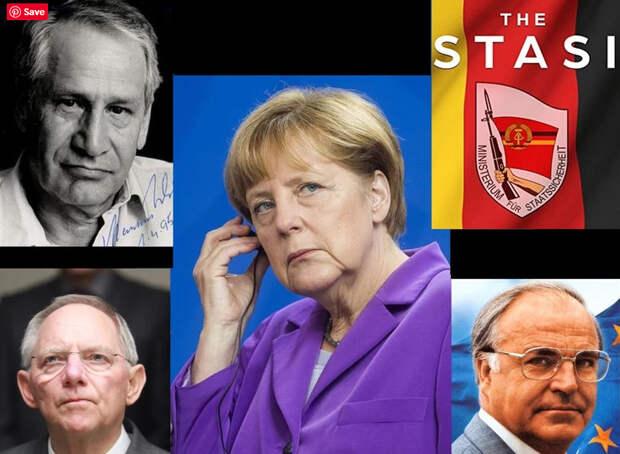 Фрау Меркель как агент Штази