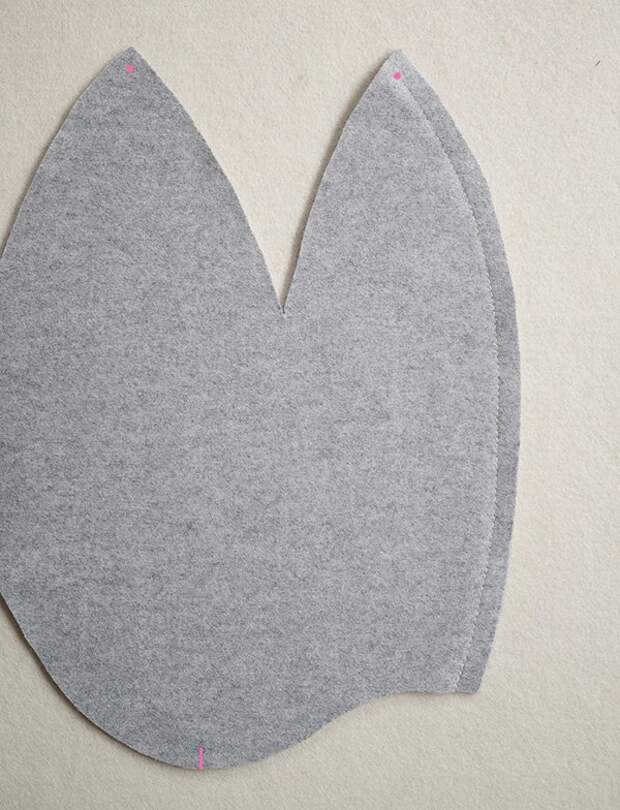 Выкройка фетровой шапочки