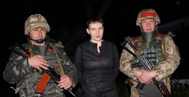 Савченко призвала прекратить войну в Донбассе