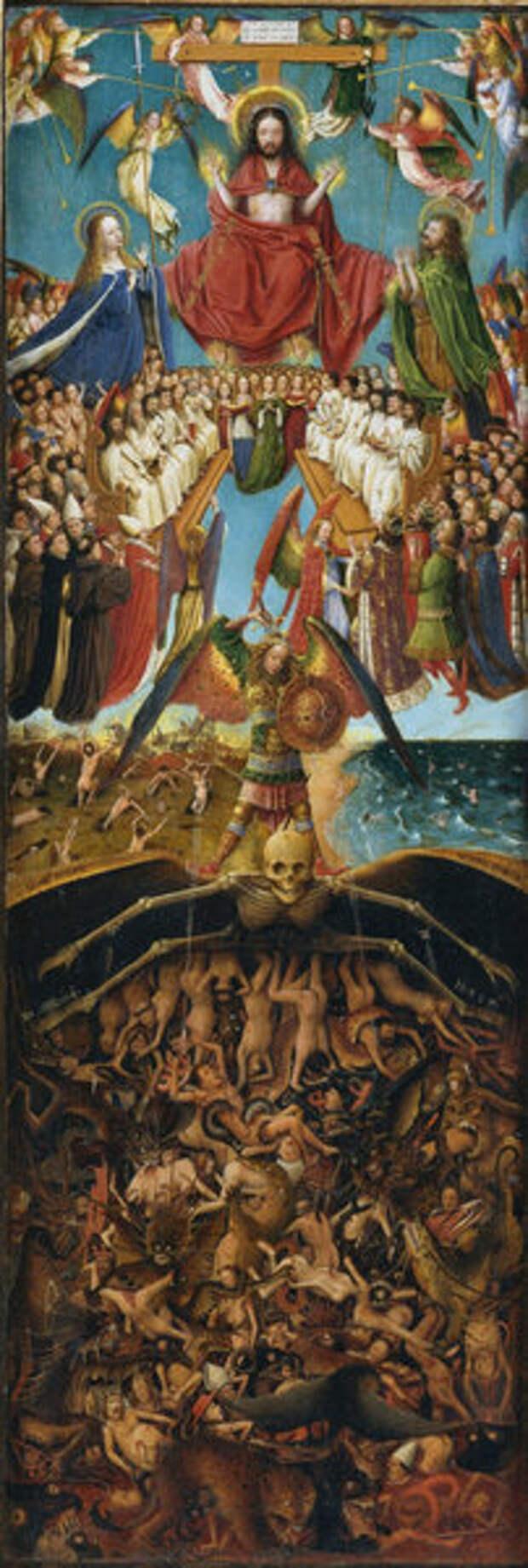 Правая створка диптиха Страшный суд