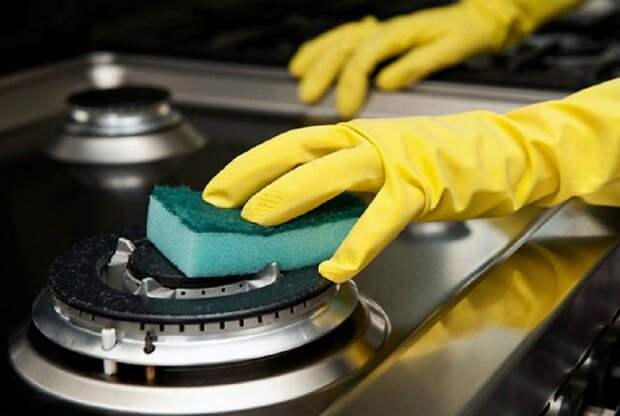 Средства для мытья газовой плиты. | Фото: развлекательный портал.