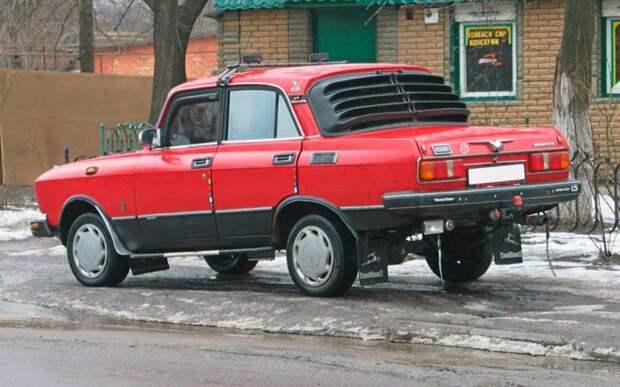 Водителям рассказали, как избежать штрафа за тюнинг машины