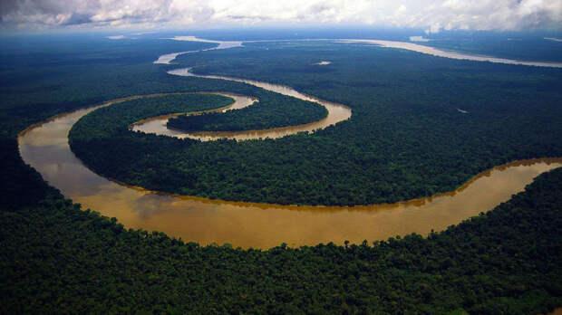 Река Амазонка, фотография