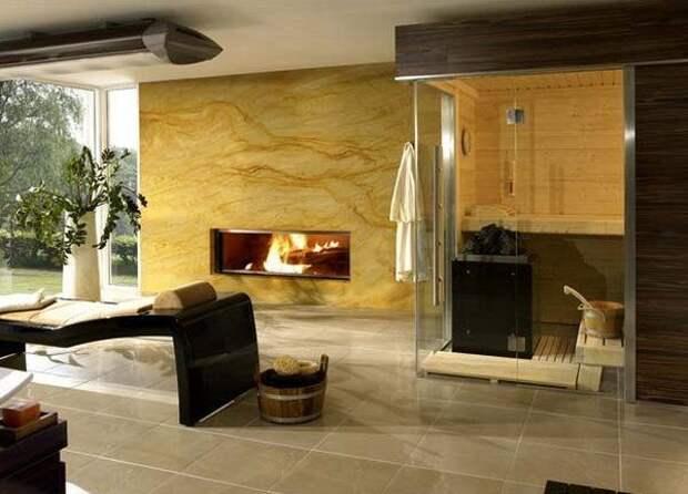 Дизайн сауны в доме фото