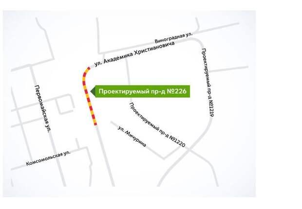 Движение в районе ОРП «Долгопрудная» будет закрыто по ночам