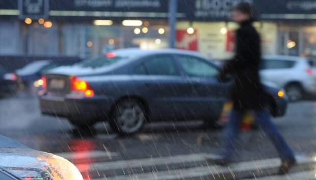 Дождь со снегом ожидается в предстоящие выходные в Московском регионе