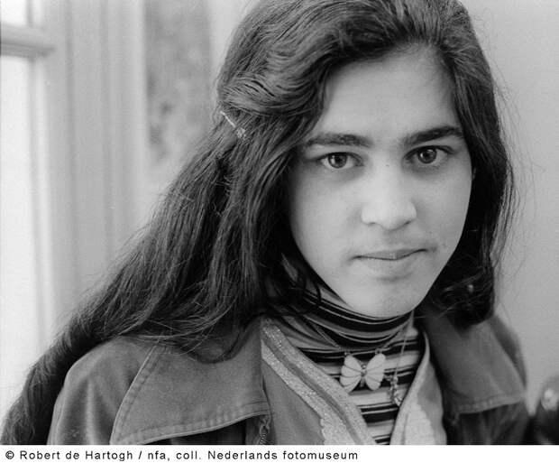 школьница-марокканка в Голландии, 1979