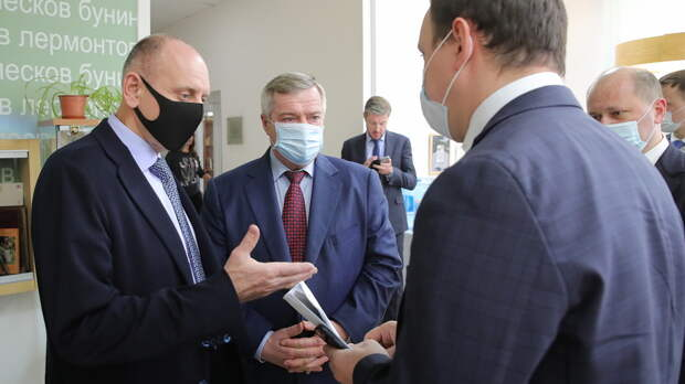Губернатор иолигарх посетили вчетверг Таганрог