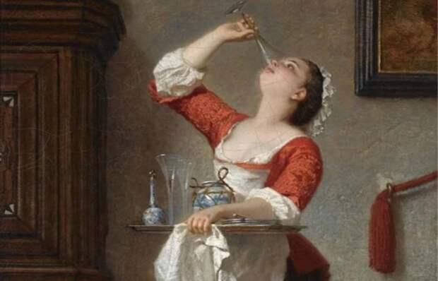Какие секреты из жизни горничных хранят картины европейских мастеров XIX века Источник