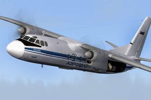 В Крыму утопили самолёт