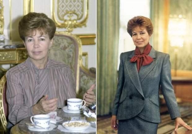 Первая леди СССР   Фото: materiality.info и fashiony.ru