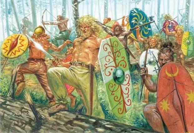 Русские оказались генетически ближе к германцам,чем к монголам