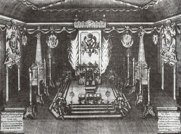Как хоронили московских царей