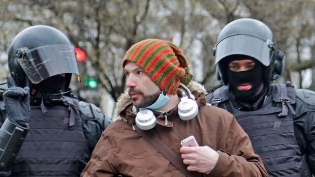 Политолог Иванов отметил профессионализм полиции на митинге в поддержку Навального