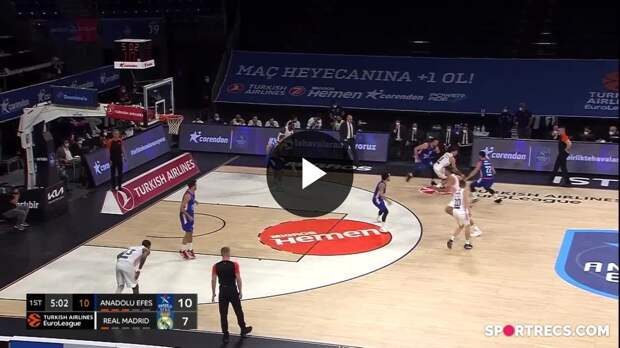 Nicolas Laprovittola with 10 Assists vs. Anadolu Efes Istanbul