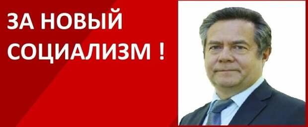 Новый (новейший) социализм г-на Платошкина