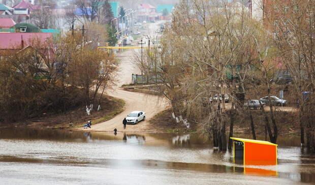 Возможно затопление: Девять районов Нижегородской области попали взону риска