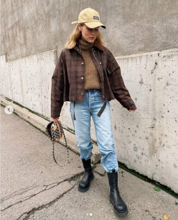 Укороченные прямые куртки как тренд весны 2021
