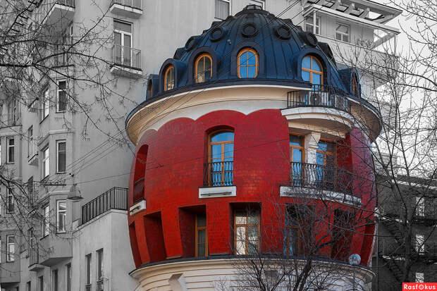 В Москве вновь выставлен на продажу знаменитый Дом-Яйцо