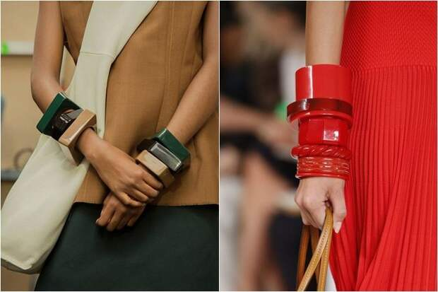 Пластмассовые браслеты