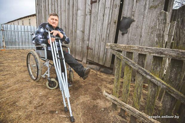 История позитивного инвалида из глубинки Социум, авто, жизнь, люди