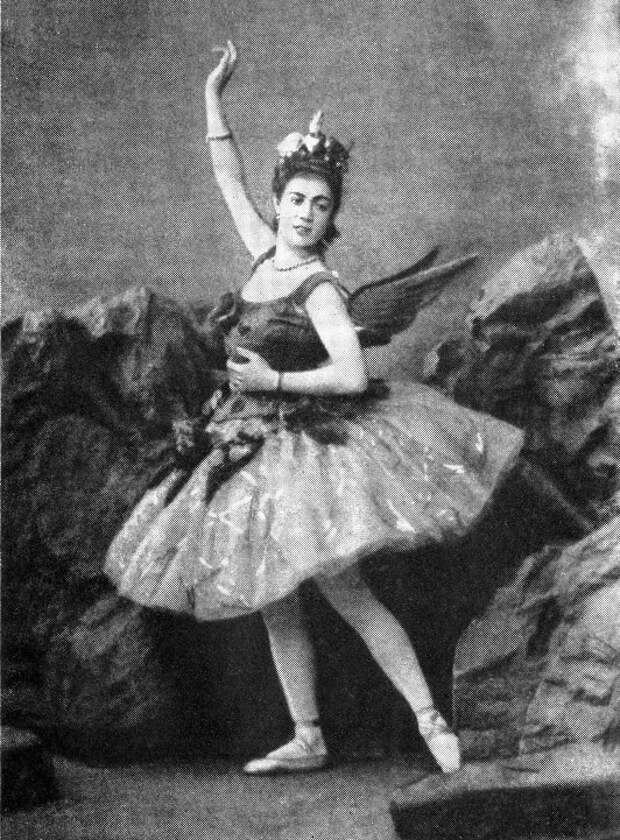 русская балерина Варвара Ивановна Никитина. фото