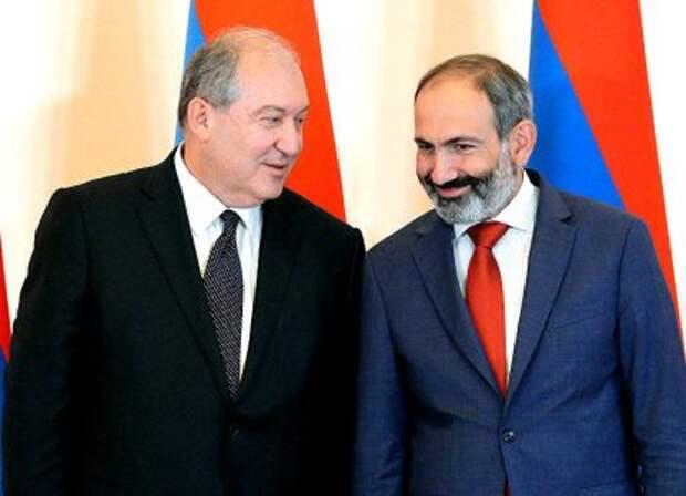Никол Пашинян и Армен Саркисян работают на Британию