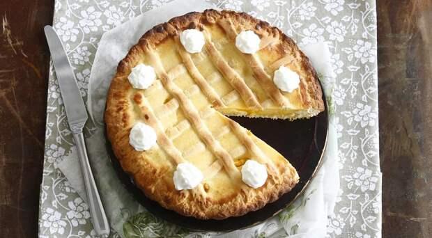 пасхальный пирог с риготтой