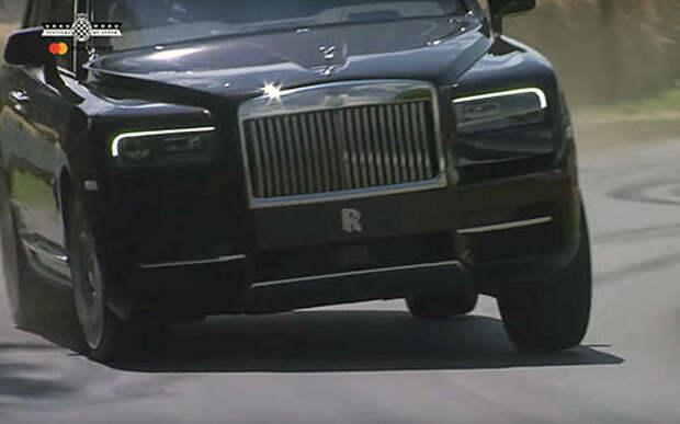 Тяжелый Rolls-Royce Cullinan утер нос спорткарам Гудвуда