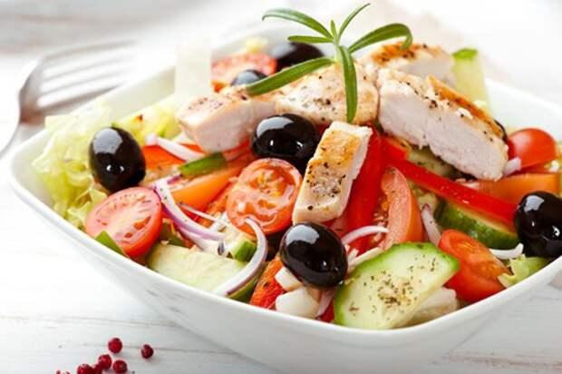 Три варианта греческого салата