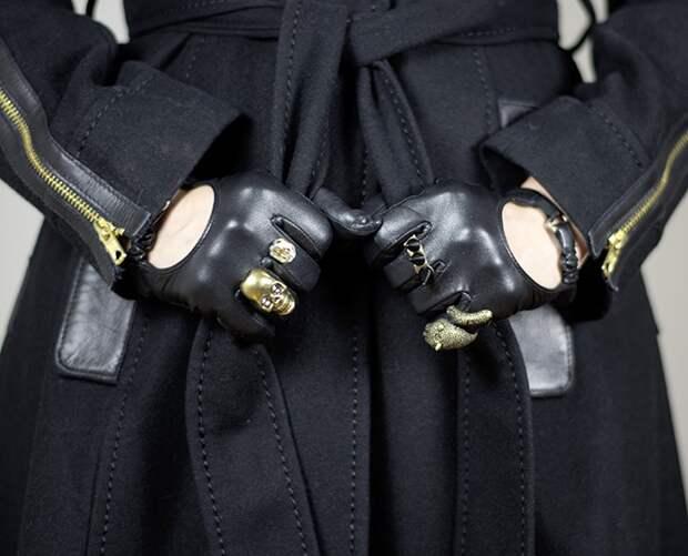 Нарядно-шикарный декор перчаток (Diy)