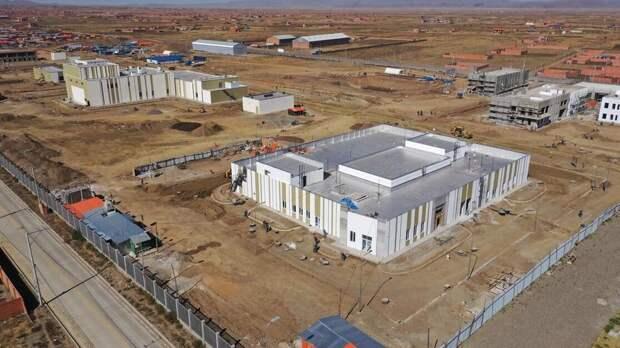 """""""Росатом"""" приступил к сооружению исследовательского реактора в Боливии"""