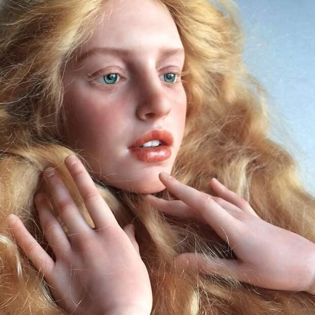 Куклы с потрясающе реалистичными лицами от Михаила Зайкова