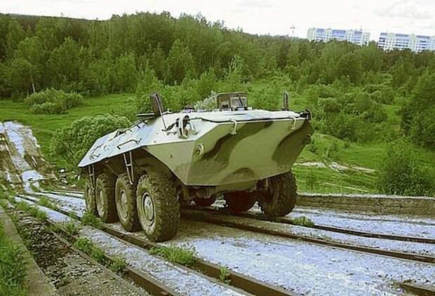 Отечественный ВПК разработал гибридный бронетранспортер