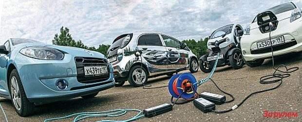 Электромобили: эко-невидаль