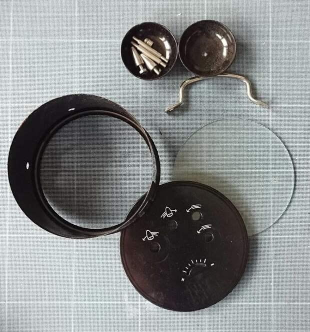 Подвесная шкатулочка из будильника (Diy)