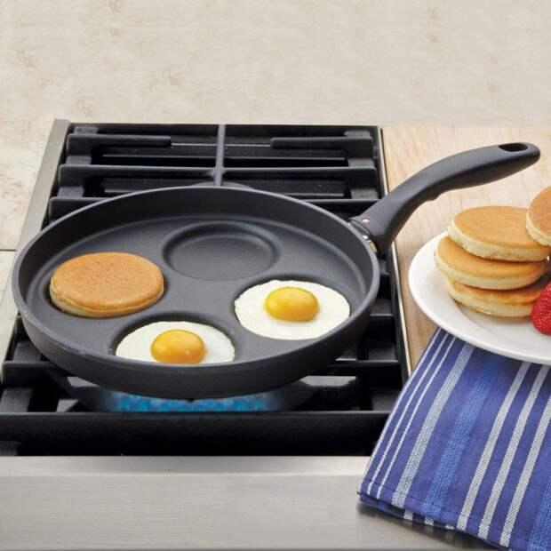 Сковорода с отдельными секциями жизнь, изобретения